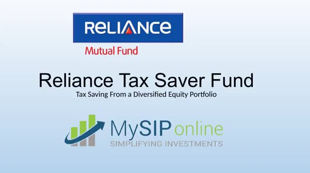 Watch and share Reliance Tax Saver Fund Overview GIFs by MySIPonline on Gfycat