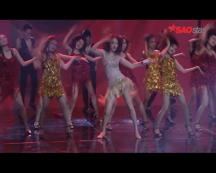 Hương Giang bỏ cả giày, nhảy sung hết cỡ cùng MTV trên sân khấu Remix New Generation