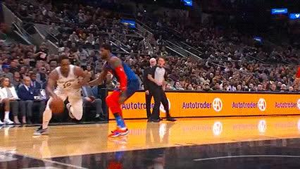 Watch and share DeMar DeRozan — San Antonio Spurs GIFs by Off-Hand on Gfycat