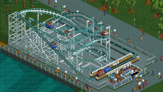 openrct2, rct, rollercoaster tycoon, RCT Quiz Time 2 GIFs