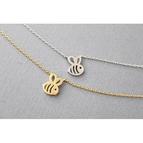Watch and share Bumble Bee Necklace GIFs by My Animal Jewelry on Gfycat