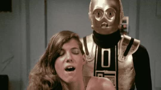 Watch Yeah, C3PO f***s. You know it's true. Starship Eros! GIF by Beyond the Beaded Curtain (@dirtyvhs) on Gfycat. Discover more dirtyvhs, starship eros, vintage porn GIFs on Gfycat