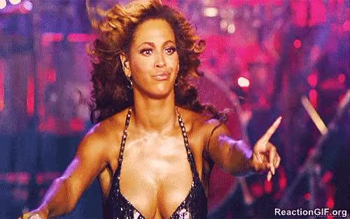 Beyonce dislike finger wag no no no no nope wrong