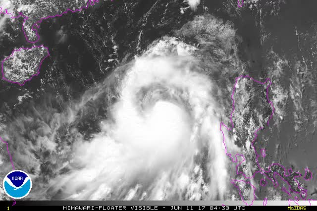 Watch Tropical Cyclone Merbok June 11, 2017 GIF by The Watchers (@thewatchers) on Gfycat. Discover more related GIFs on Gfycat