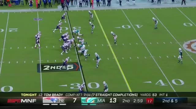 Watch and share 11 Burkhead Takes It To The 47.mov GIFs on Gfycat