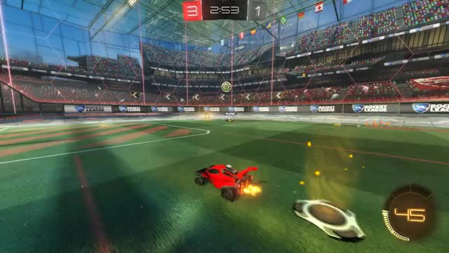 Watch Save 2: Crypto GIF by Gif Your Game (@gifyourgame) on Gfycat. Discover more Crypto, Gif Your Game, GifYourGame, Rocket League, RocketLeague, Save GIFs on Gfycat