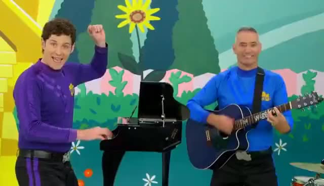 Watch and share The Wiggles Nursery Rhymes - There Were Ten In The Bed GIFs on Gfycat