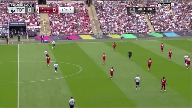 Dele pass 2 vs Fulham prem 18/08/2018