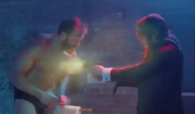 John Wick | Red Circle Club Fight Scene GIF by Media Paradise