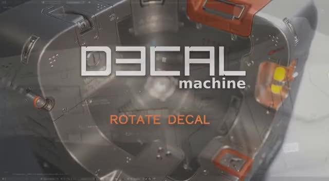 DECALmachine - Rotate Decal + Decal UVs GIF | Find, Make & Share