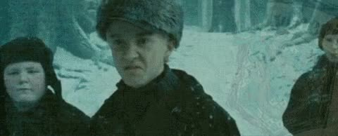 Watch this trending GIF on Gfycat. Discover more bertie gilbert, draco malfoy, drarry, gif, graphic, scorpius malfoy, slytherin, sneer, tom felton GIFs on Gfycat