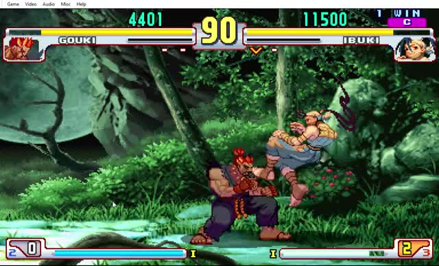 Evo Moment 39 StreetFighter SF3S Parry PC Ibuki Gouki Fightcade Akuma GIF