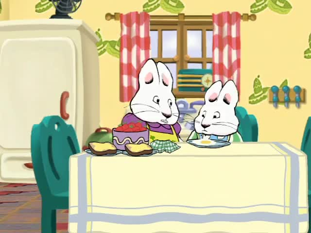 Watch and share Max & Ruby - Max Throws Bib GIFs by merdink on Gfycat
