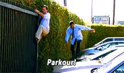 Watch and share The Office Parkour GIFs on Gfycat