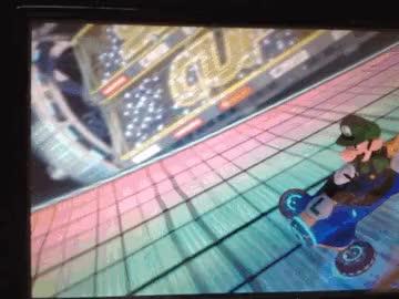 Watch Luigi saca su lado diabolico en Mario Kart 8 4 GIF on Gfycat. Discover more related GIFs on Gfycat