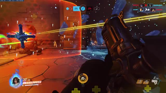 Watch Broken Charge GIF on Gfycat. Discover more Overwatch, highlight GIFs on Gfycat