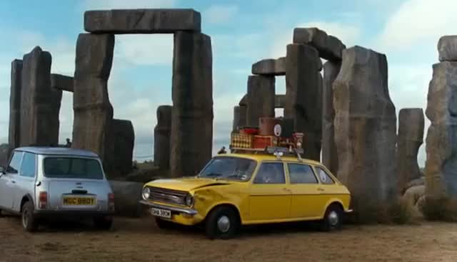 Watch and share European Vacation  Stonehenge GIFs on Gfycat