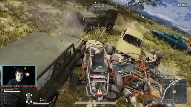 Watch Auto Royale in Customs GIF by MicrowaveFork (@microwavefork) on Gfycat. Discover more MLG, auto, battle royale, custom match, destruction, esport, esports, final circle, gamer nation, intel, lol, lol gaming, lol plays, melee, playerunknownbattlegrounds, pubattlegrounds, pubg, pubg esports, tense, uaz GIFs on Gfycat