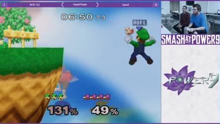 Watch ROFL is a true Luigi main • r/smashgifs GIF on Gfycat. Discover more related GIFs on Gfycat