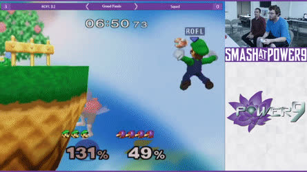 ROFL is a true Luigi main • r/smashgifs GIFs