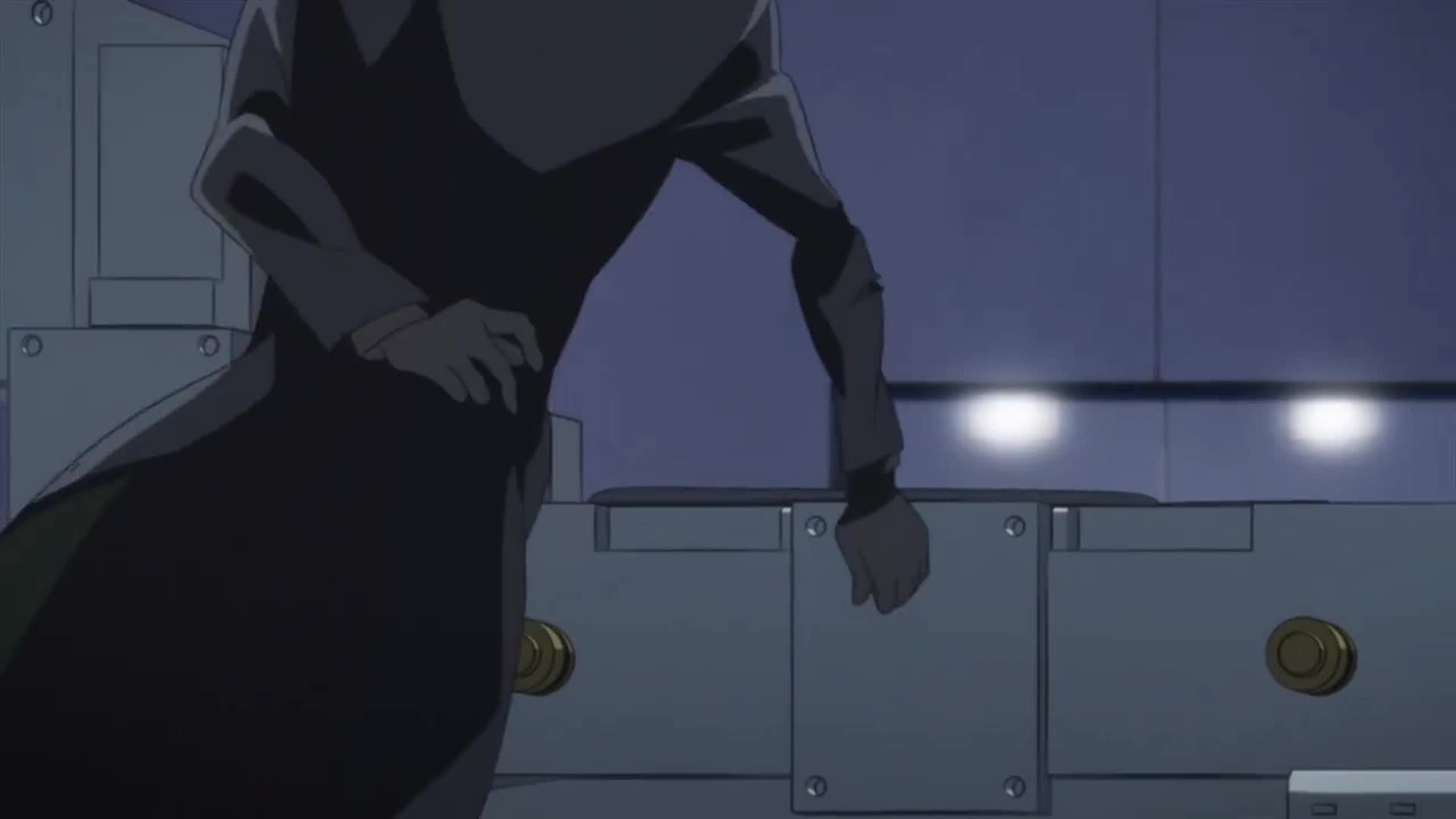 animegifs, Darker Than Black Gemini of the Meteor Episode 12 GIFs
