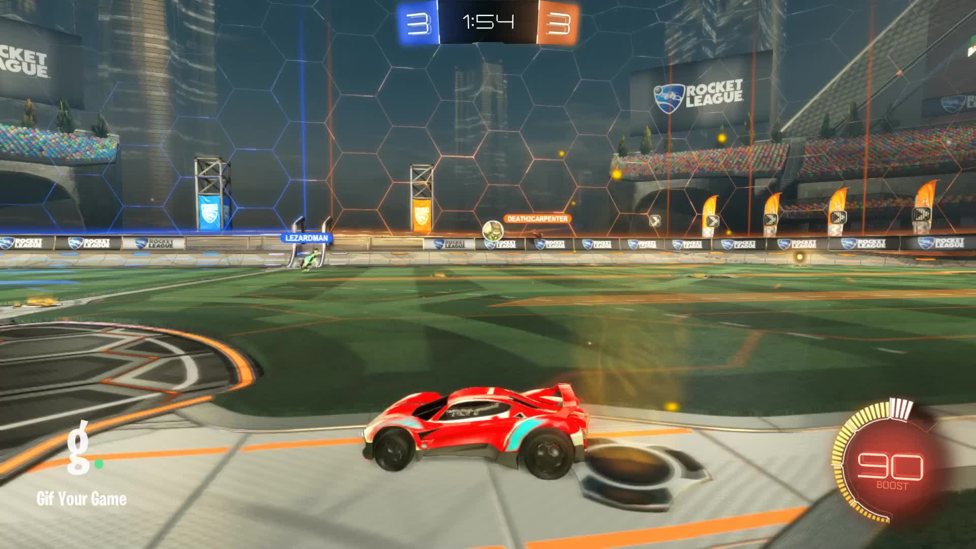 Gif Your Game, GifYourGame, Goal, Litro, Rocket League, RocketLeague, Goal 7: Litro GIFs
