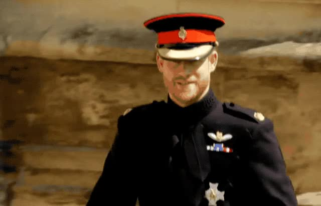 Watch this prince harry GIF by GIF Queen (@ioanna) on Gfycat. Discover more adios, again, bye, cu, farewell, goodbye, harry, later, meet, prince, royal, see, till, wave, we, wedding, you GIFs on Gfycat