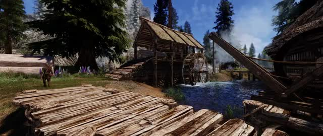 Watch and share Riverwood GIFs and Skyrim GIFs by focuspoint on Gfycat