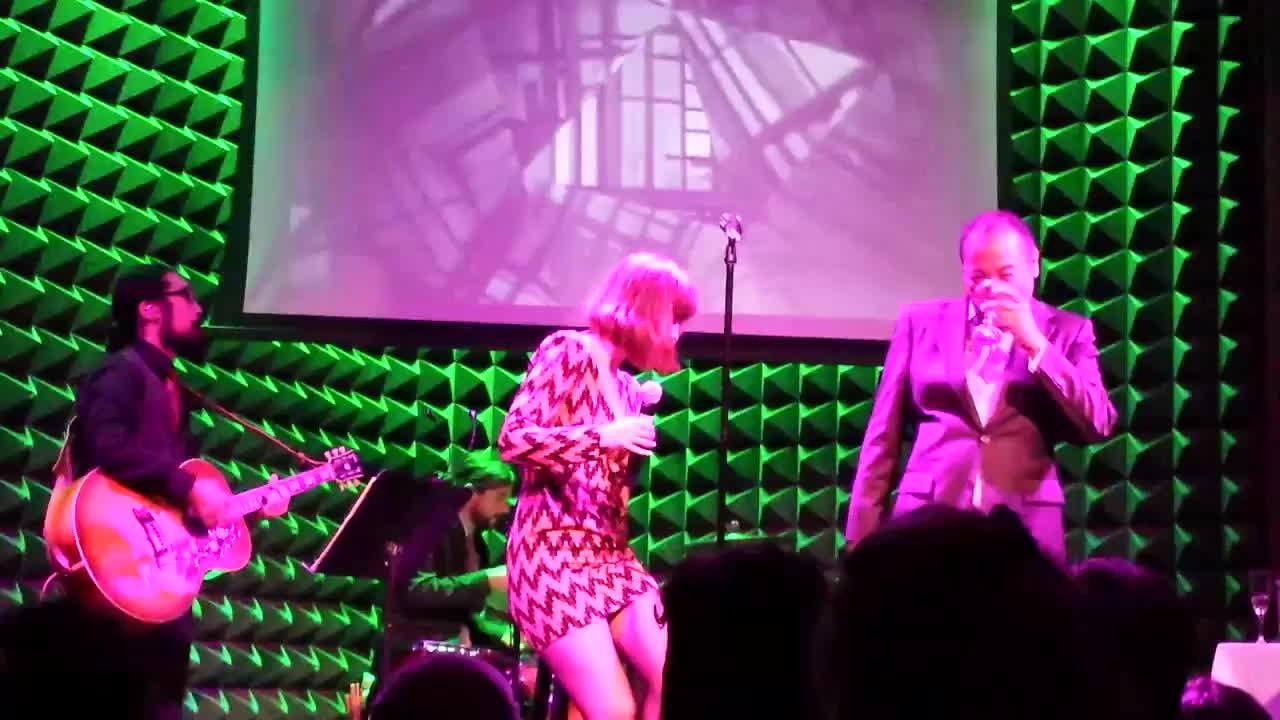 dan the automator, got a girl, mary elizabeth winstead, Got A Girl - La La La (Joe's Pub 9/26/15) GIFs