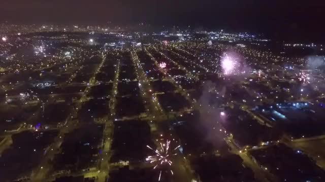 Watch Fireworks Over Lima, Peru GIF on Gfycat. Discover more fireworks, new year 2016, new years fireworks GIFs on Gfycat