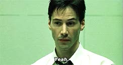 Watch this keanu reeves GIF on Gfycat. Discover more keanu reeves, matrix, the matrix, yeah GIFs on Gfycat