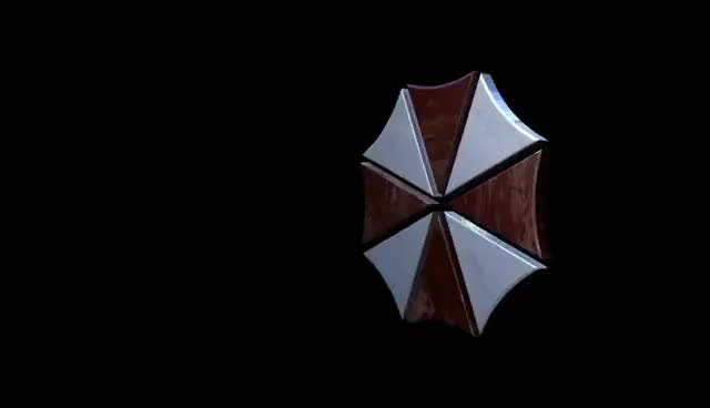 Watch and share Resident Evil Umbrella Corporation Logo GIFs on Gfycat
