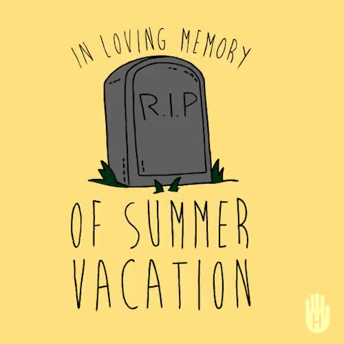 Watch and share Summer Vacation GIFs and Back To School GIFs on Gfycat