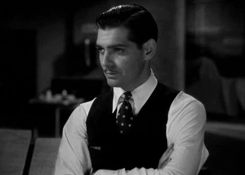 Watch and share Clark Gable GIFs on Gfycat