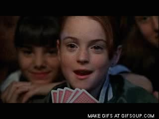 Watch and share Parent Trap Poker 7 GIFs on Gfycat