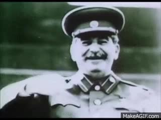 Watch and share Stalin's Bodyguard Talks About Stalin GIFs on Gfycat
