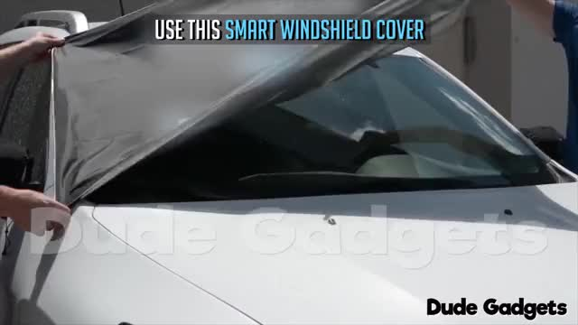 Watch and share Smart Windshield Cover GIFs on Gfycat