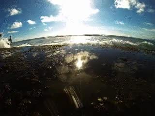 Watch and share Waikiki Walls GIFs and Hawaii Waves GIFs on Gfycat