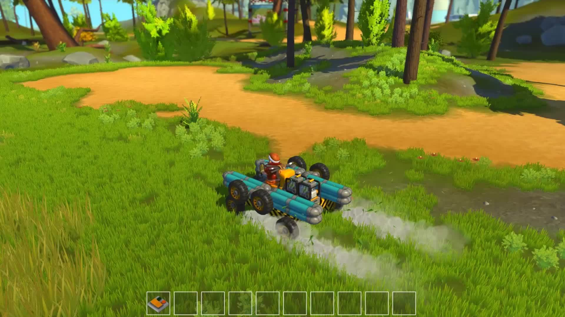 scrapmechanic, Extending car 2.0 GIFs