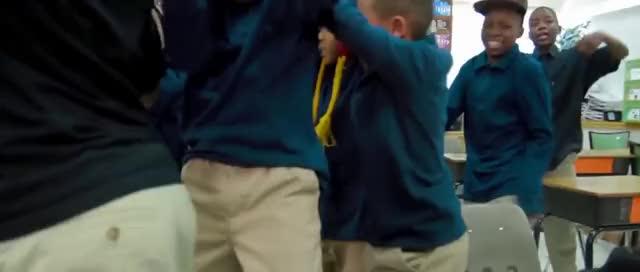 khaki dance boy