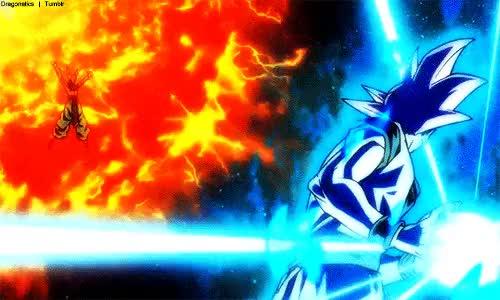 Watch and share Super Saiyan God GIFs and Battle Of Gods GIFs on Gfycat
