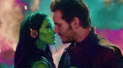 Watch and share Peter X Gamora GIFs and Peter Quill GIFs on Gfycat