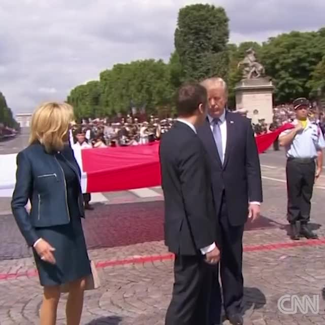 Watch and share Emmanuel Macron GIFs and Donald Trump GIFs by 7heJoker on Gfycat