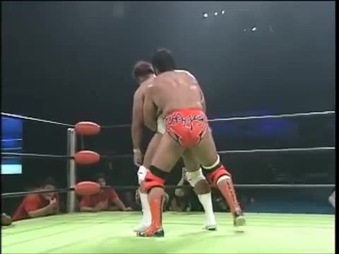 Watch and share Jun Akiyama Vs Kenta Kobashi (August 6, 2000) GIFs by juanpersona on Gfycat