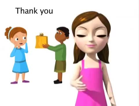 Watch and share Thank You - ASL Sign For Thank You - Animated GIFs on Gfycat