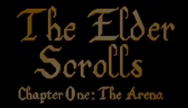 Watch and share All The Elder Scrolls Trailers Since 1994 - 2014 GIFs on Gfycat