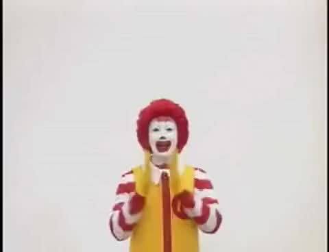 Watch Ronald McDonald Insanity GIF on Gfycat. Discover more crazy, insane, insanity, japan, mcdonalds, ronald mcdonald, weird GIFs on Gfycat