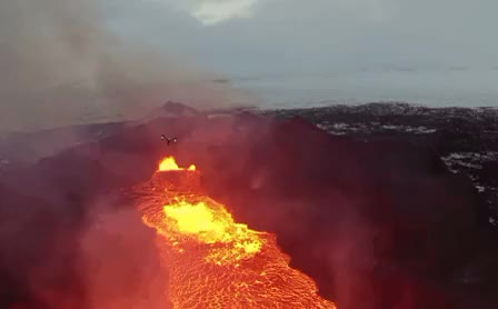 Watch and share Drone GIFs and Lava GIFs by athertonkd on Gfycat