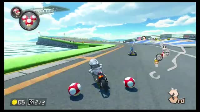 Watch and share Mario Kart 8 Deluxe GIFs by The Legend on Gfycat