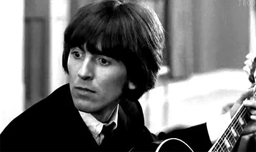 Watch this GIF on Gfycat. Discover more George Harrison, cute, fainting, funny GIFs on Gfycat